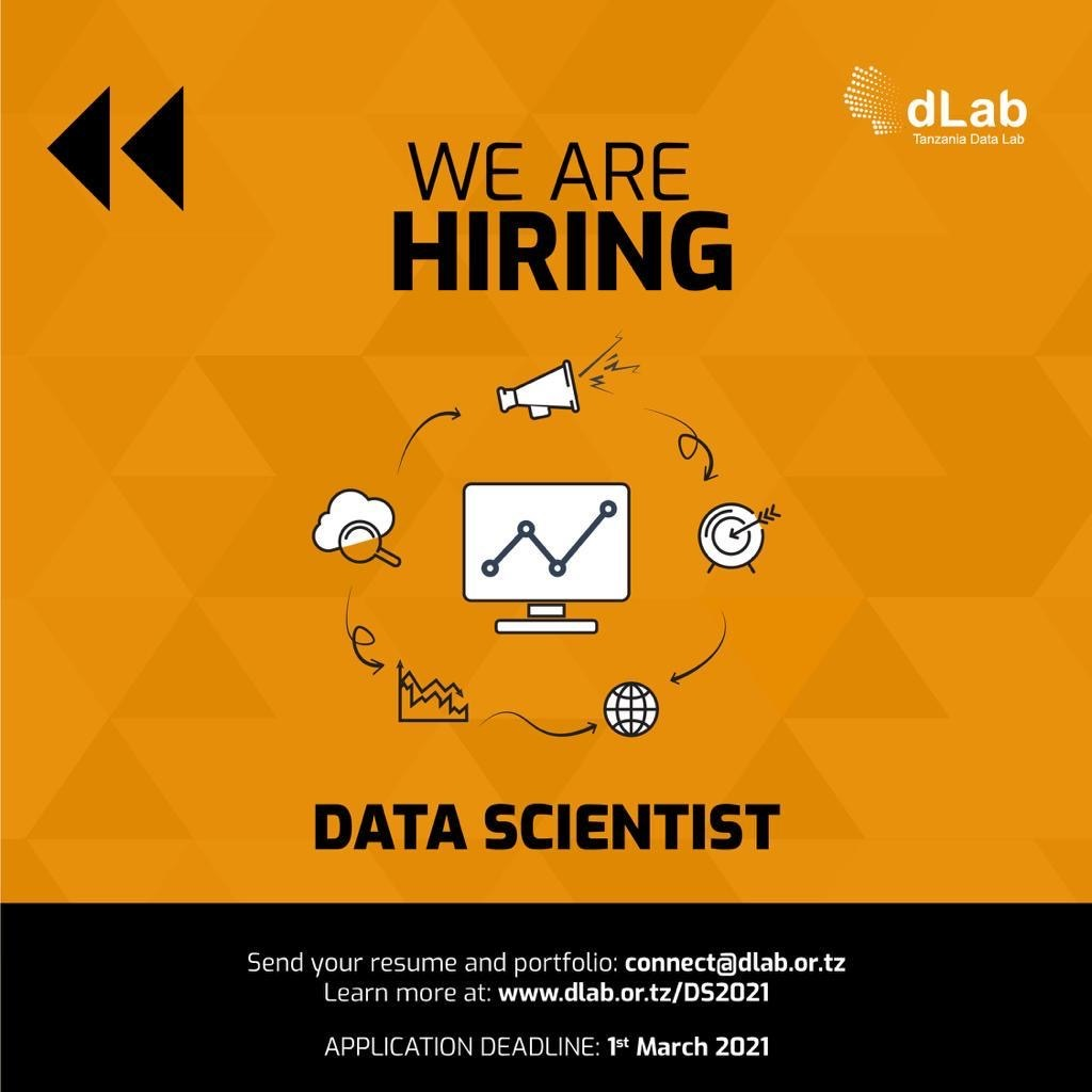 JOB OPPORTUNITY: Data Scientist