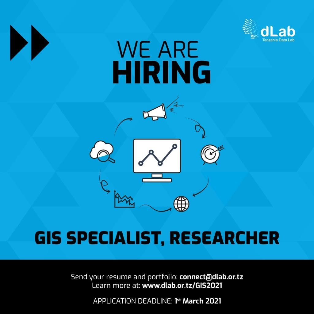 JOB OPPORTUNITY: GIS Specialist, Researcher