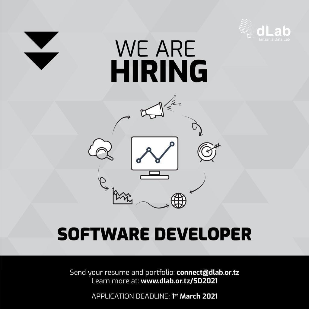 JOB OPPORTUNITY: Software Developer