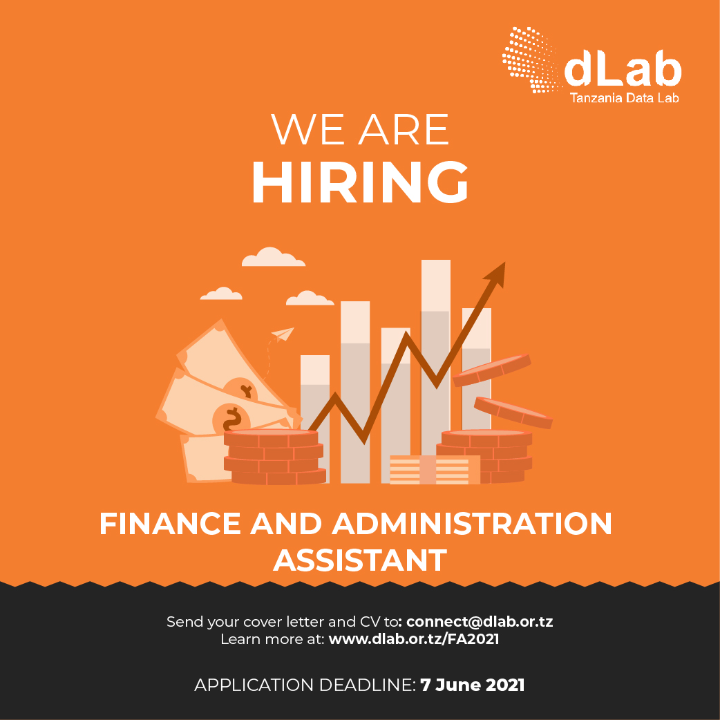 JOB OPPORTUNITY: Finance & Administration Assistant
