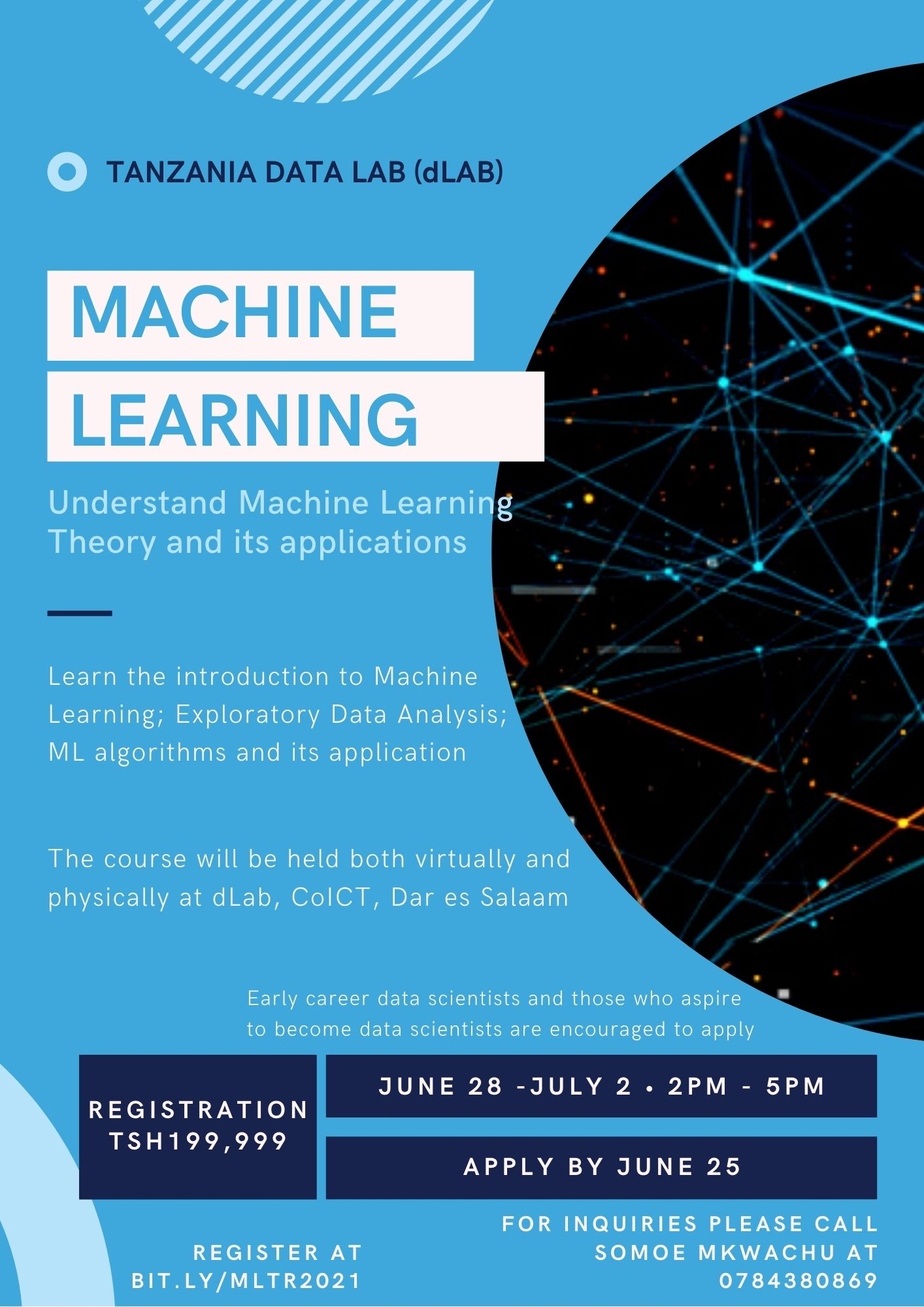 Apply for dLab's Machine Learning Course
